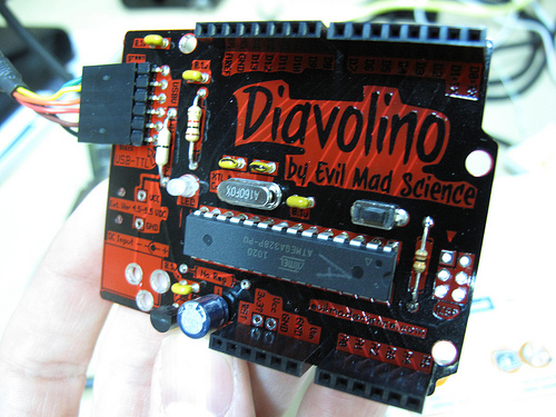 Evil Mad Science's 'Diavolino' Clone
